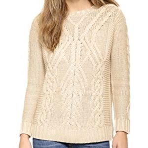 525 America Traveling Cable Knit Sweater
